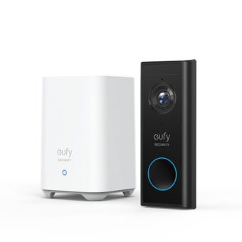 Eufy Wireless Video Doorbell 2K with Homebase 2