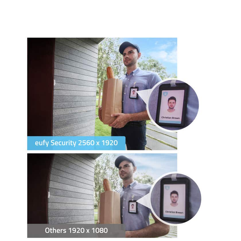 Eufy Stand Alone 2K Wireless Video Doorbell