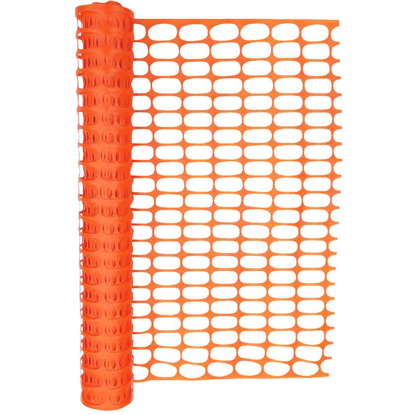 Hurricane™ Safety Barrier Mesh Orange 1 x 30m