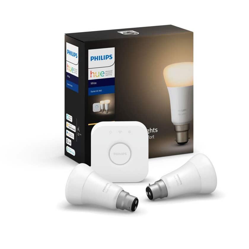 Philips Hue Starter Kit Auto A60 9W BC White Bluetooth