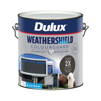 Dulux Weathershield ColourGuard Exterior Low Sheen Namadji 4L