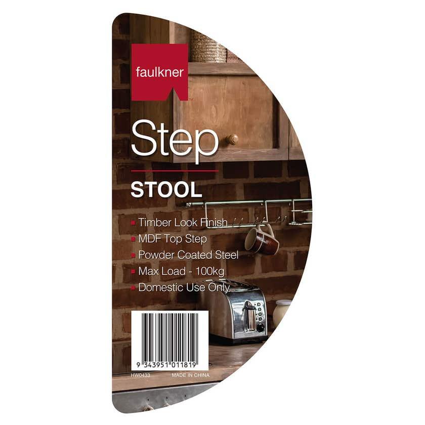 Faulkner™ Step Stool Round Top