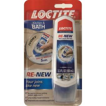 Loctite Re-New Kitchen & Bath Silicone Repair Ivory 100ml