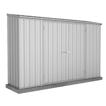 Absco Economy Shed Skillion Roof W3.0 x D0.78 x H1.95m