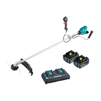 Makita 36V (18V x 2) Brushless U-Handle Line Trimmer Kit DUR369APG2