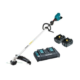 Makita 36V (18V x 2) Brushless Loop Handle Line Trimmer Kit DUR369LPT2
