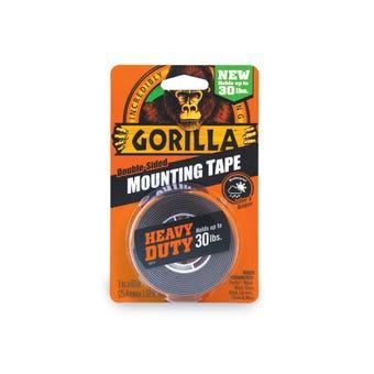 Gorilla Mounting Tape Black
