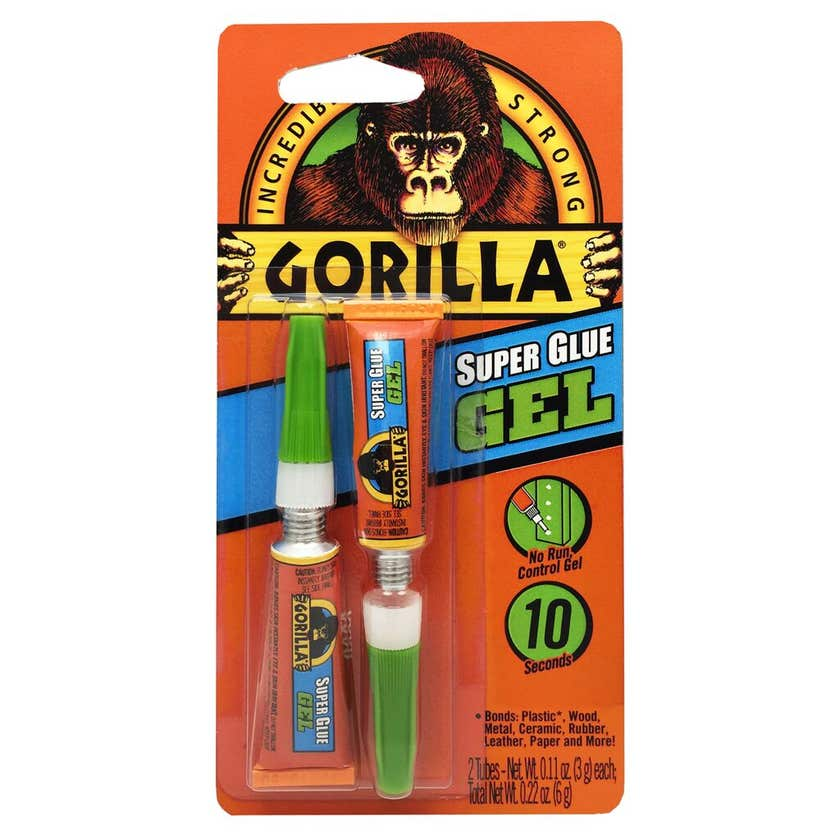 Gorilla Superglue Gel 3g - 2 Pack