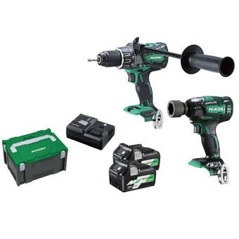 HiKOKI 36V Brushless Combo Kit - 2 Piece KC36DPL2(HRZ)