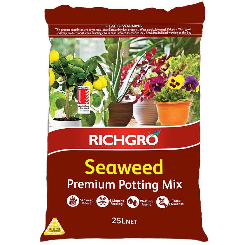 Richgro Premium Seaweed Potting Mix 25L