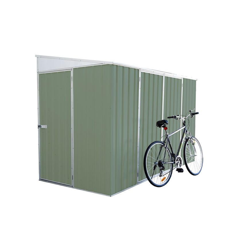 Absco Bike Shed Skillion Roof W3.0 x D1.52 x H2.08m