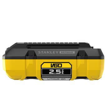 Stanley FatMax V60 54V 2.5Ah Lithium Battery