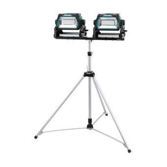 Makita 18V High Brightness LED Work Light x 2 & Tripod Skin