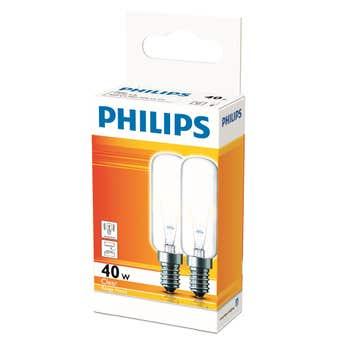 Philips Appliance Globe Rangehood 40W SES T25L - 2 Pack