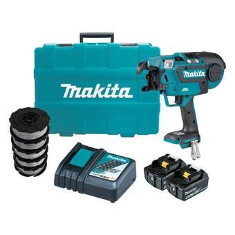 Makita 18V 5.0Ah Brushless Reber Tying Tool Kit