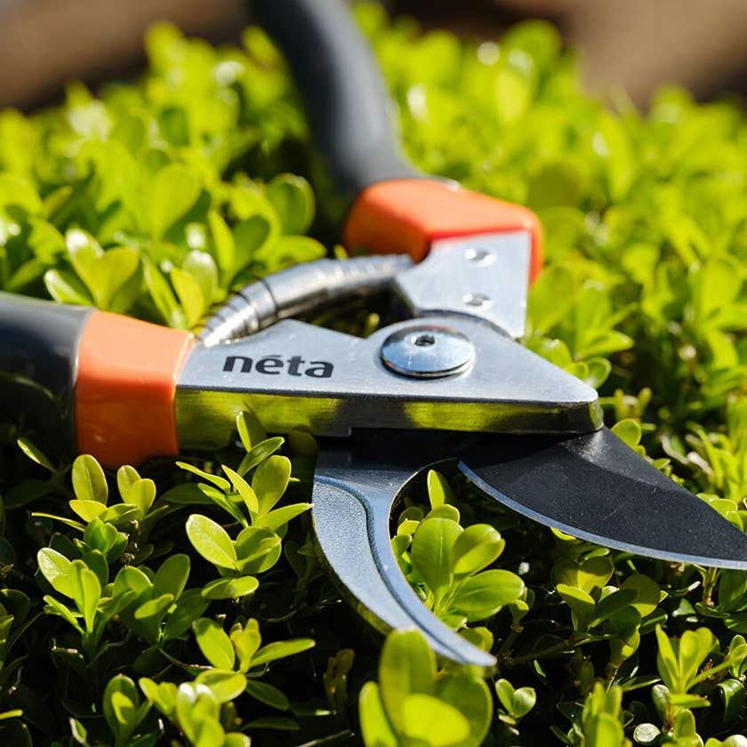 Neta Bypass Secateurs Aluminium