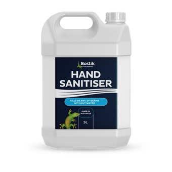 Bostik Hand Sanitiser Gel 5L