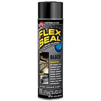 Flex Seal Spray Can Black 396g