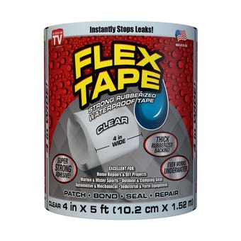 Flex Tape Clear 102mm x 1.52m