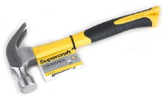 Supercraft 20oz Fiberglass Claw Hammer