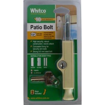 CYL4 Patio Bolt