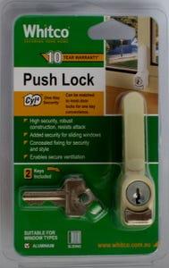 Push Lock Prm Single Whitco