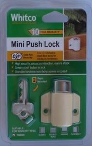 Lock Window Mini Push Primrose