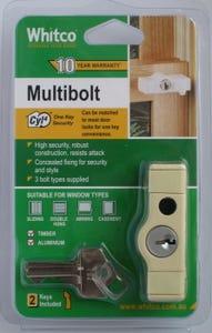 Lock Multi Bolt Primrose Cyl4 Pk1
