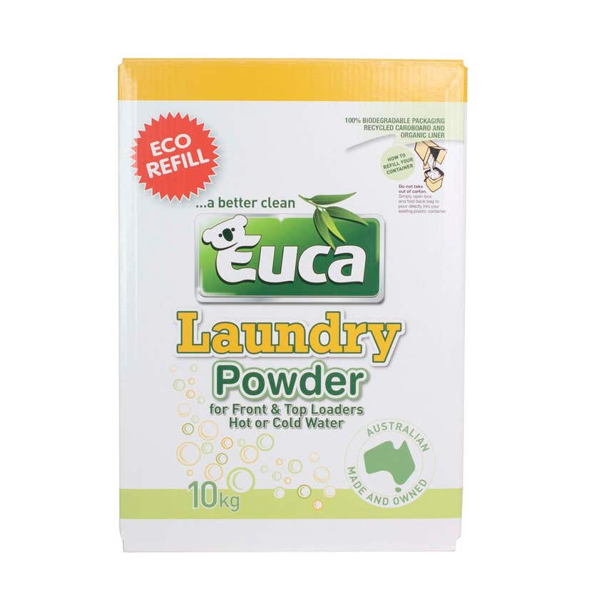 Euca Laundry Powder Concentrate Refill 10kg