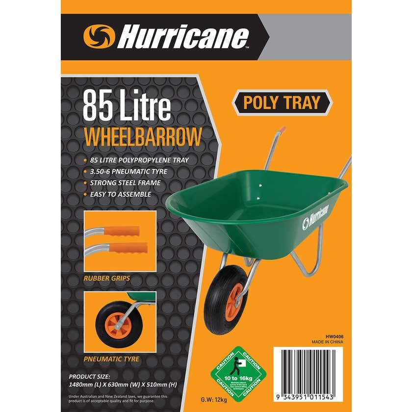 Hurricane™ 85L Wheelbarrow