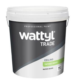 Wattyl Trade Ceiling Tintable White 15L