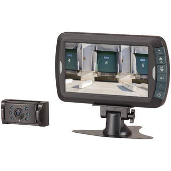 """Wireless Reversing Camera with 7"""" LCD Screen 2.4GHZ"""