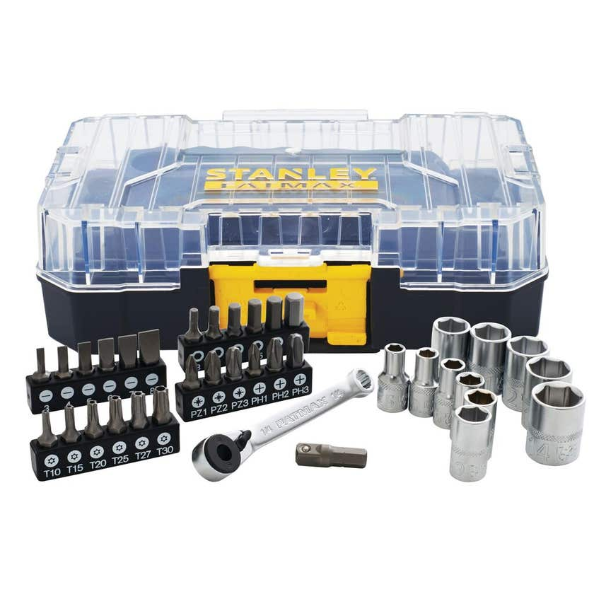 Stanley FatMax Small Stack Socket Set - 37 Piece