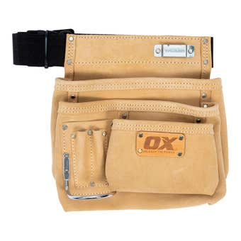 OX Trade Suede Leather Tool Belt