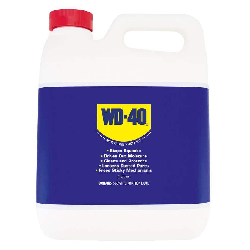 WD-40 Multi-Use Lubricant Liquid 4L