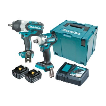 Makita 18V 5.0Ah Brushless Combo Kit - 2 Piece DLX2371TJ