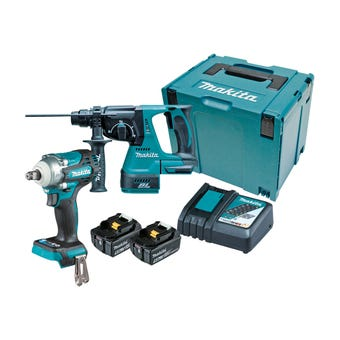 Makita 18V Brushless Combo Kit - 2 Piece DLX2372TJ