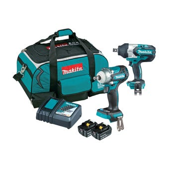 Makita 18V 6.Ah Brushless Combo Kit - 2 Piece DLX2374GX1