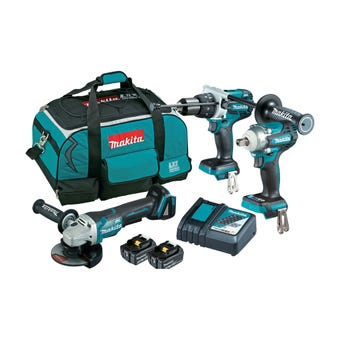 Makita 18V 5.0Ah Brushless Combo Kit - 3 Piece DLX3133T