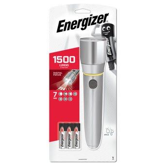 Energizer Metal Vision HD LED Torch 1500 Lumens