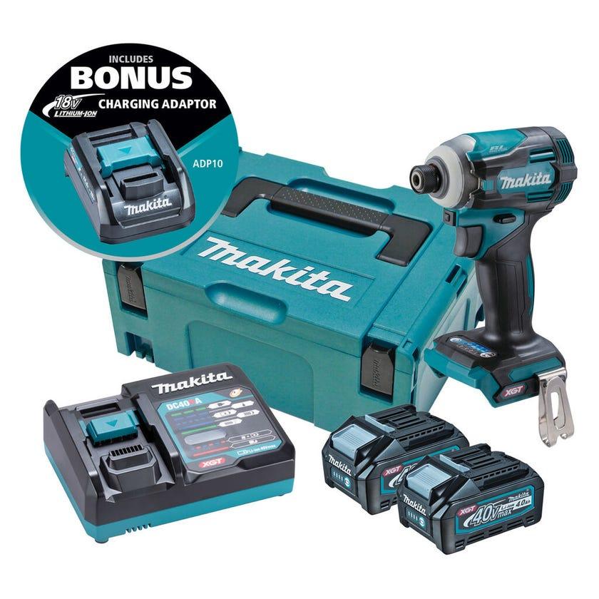 Makita 40V Max Brushless Impact Driver Kit TD001GM204