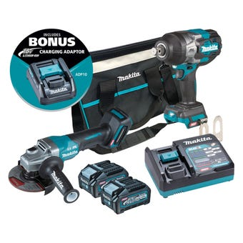 Makita 40V Max Brushless Combo Kit - 2 Piece DK0139G201