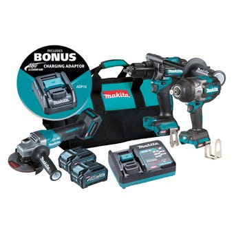 Makita 40V Max Brushless Combo Kit - 3 Piece DK0131G301