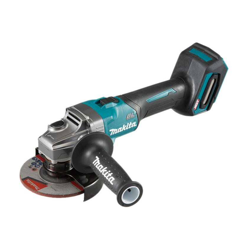 Makita 40V Max Brushless 125mm Slide Switch Angle Grinder Skin