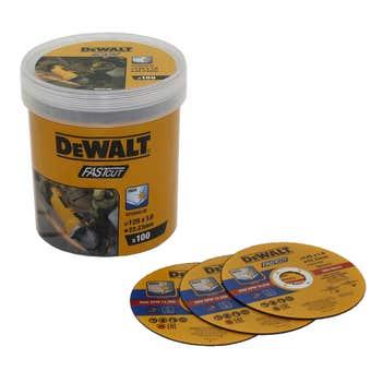 DeWALT Fast Cut Cutting Disc 125mm - 100 Pack