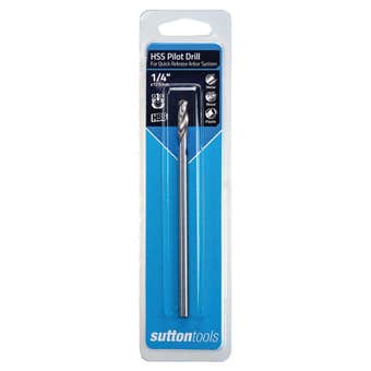 Sutton Tools HSS Pilot Drill Long with Quick Release