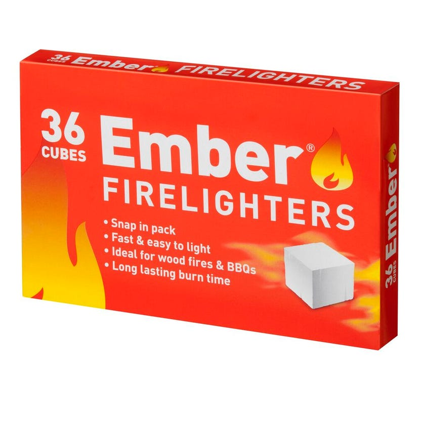 Ember Firelighters - 36 Pack