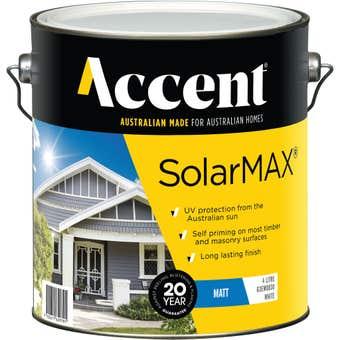 Accent SolarMAX Exterior Matt White 4L