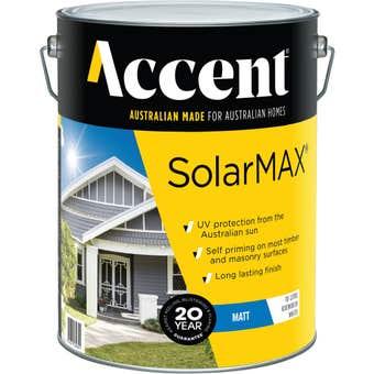 Accent SolarMAX Exterior Matt White 10L