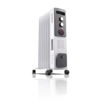 Goldair 7 Fin 1900W Dual Technology Oil Column Heater with Timer